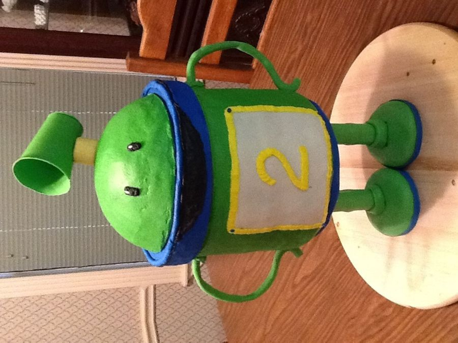 Bot -Team Umizoomi  on Cake Central