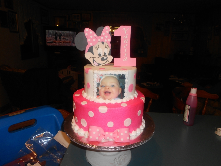 Minnie 1St Birthday on Cake Central