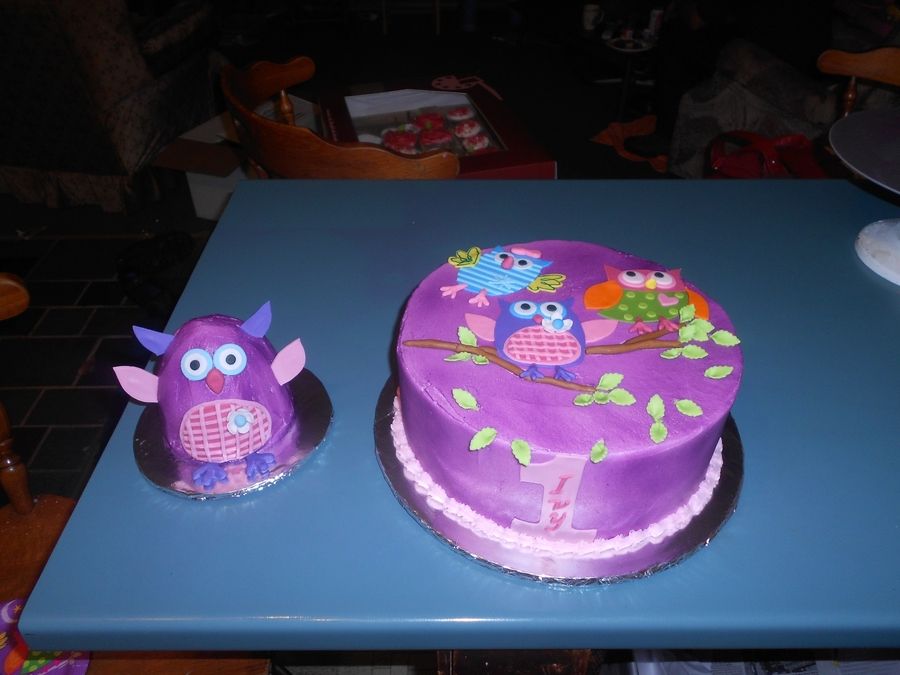 Owls on Cake Central