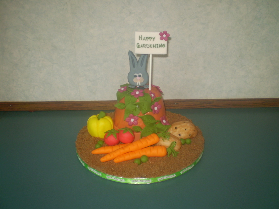 Veggies Anyone? on Cake Central