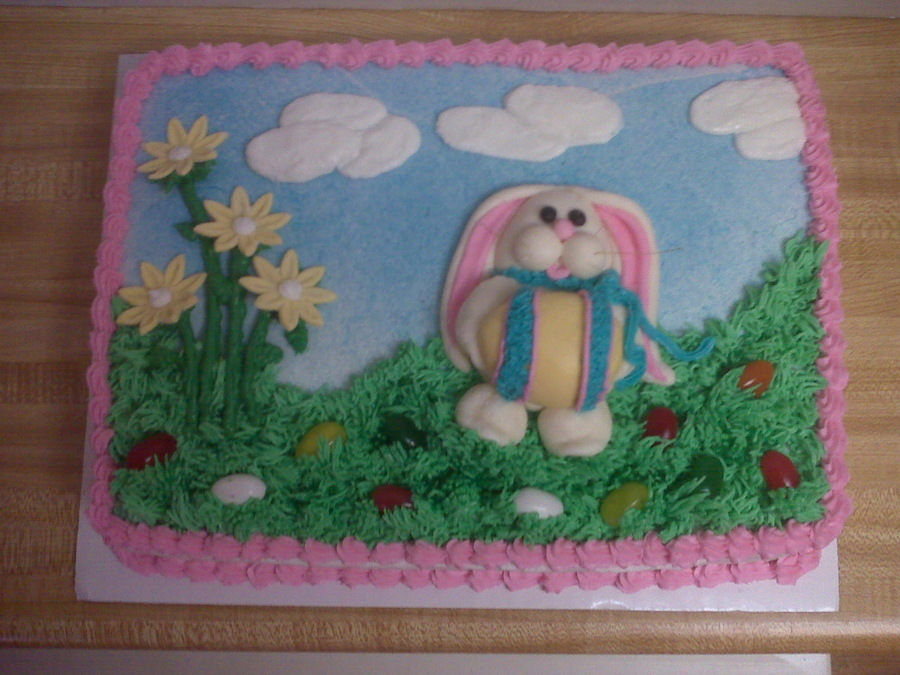 Easter Outdoors on Cake Central