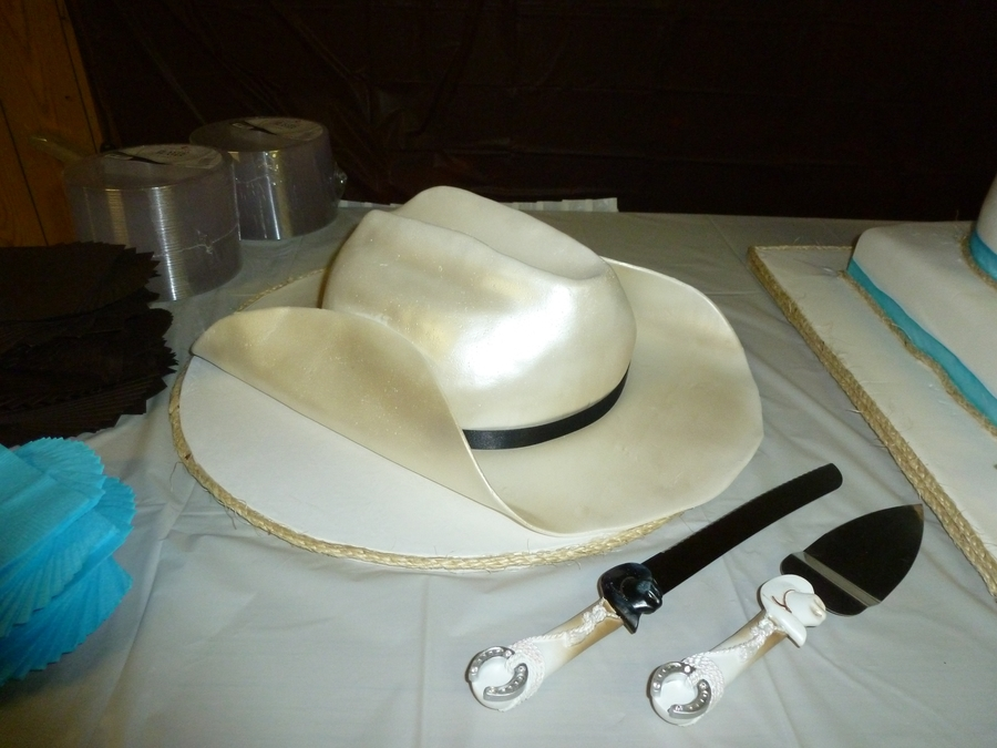 Cowboy Hat Groom's Cake on Cake Central