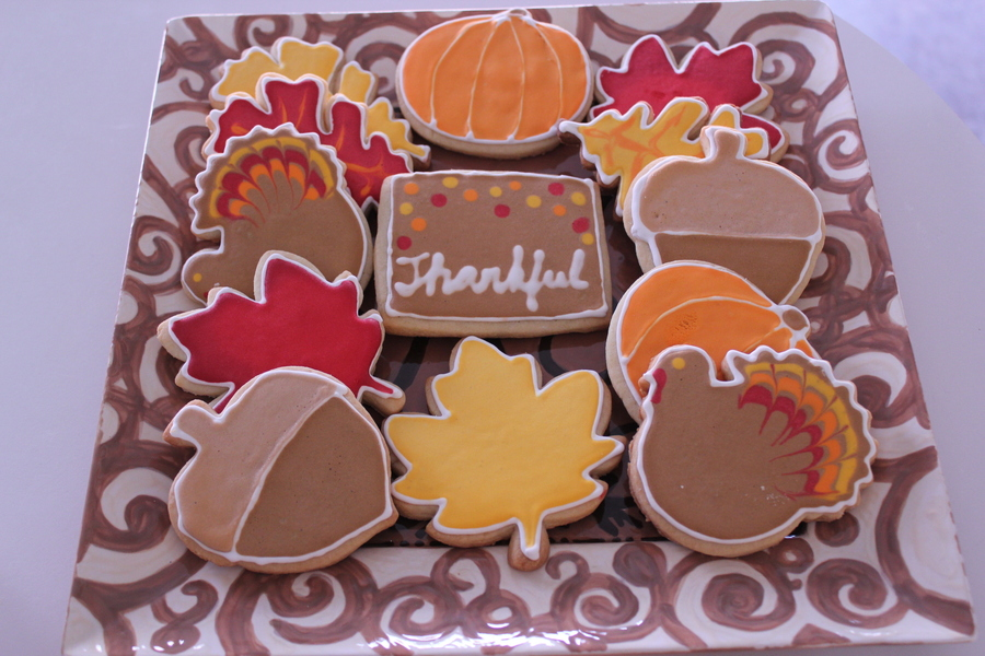 Thanksgiving Cookies on Cake Central