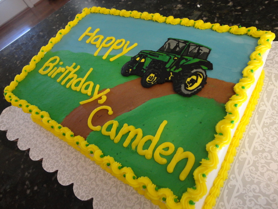 Tractor Party! on Cake Central