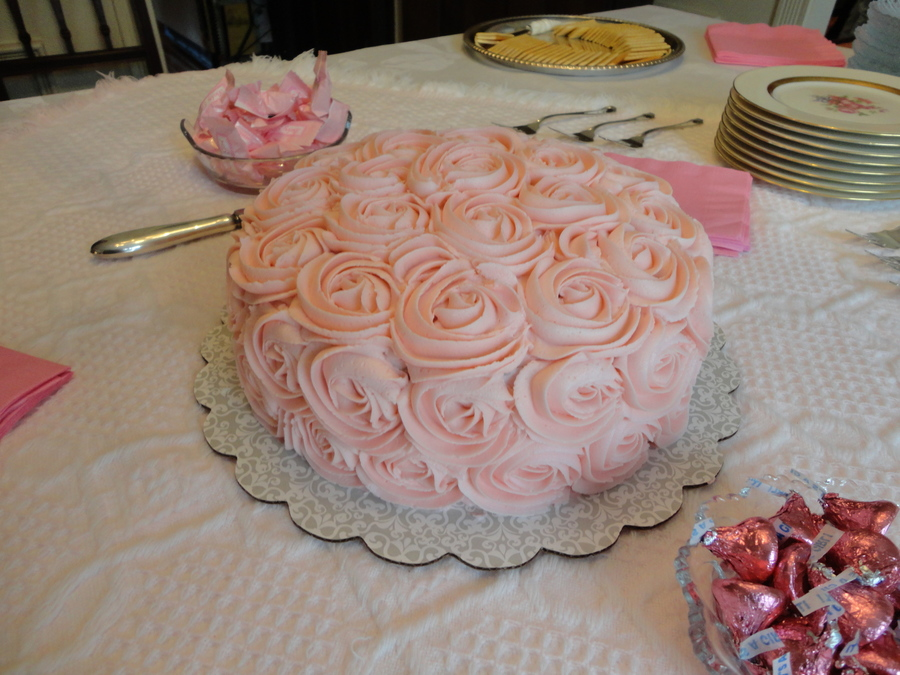 Roses For Ella on Cake Central