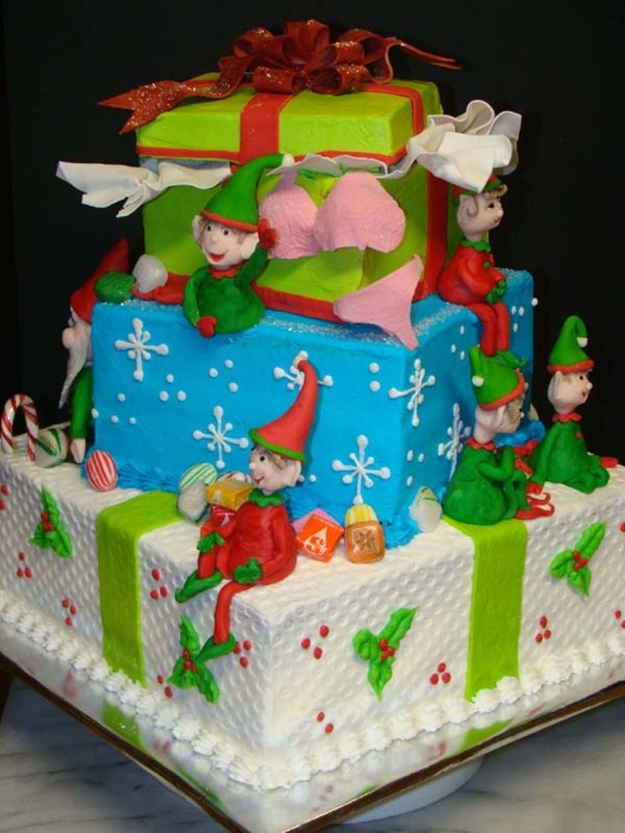 Elves on Cake Central