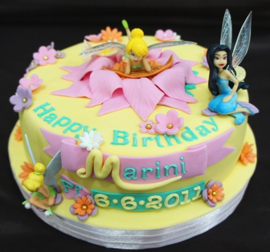Fairies Cake on Cake Central