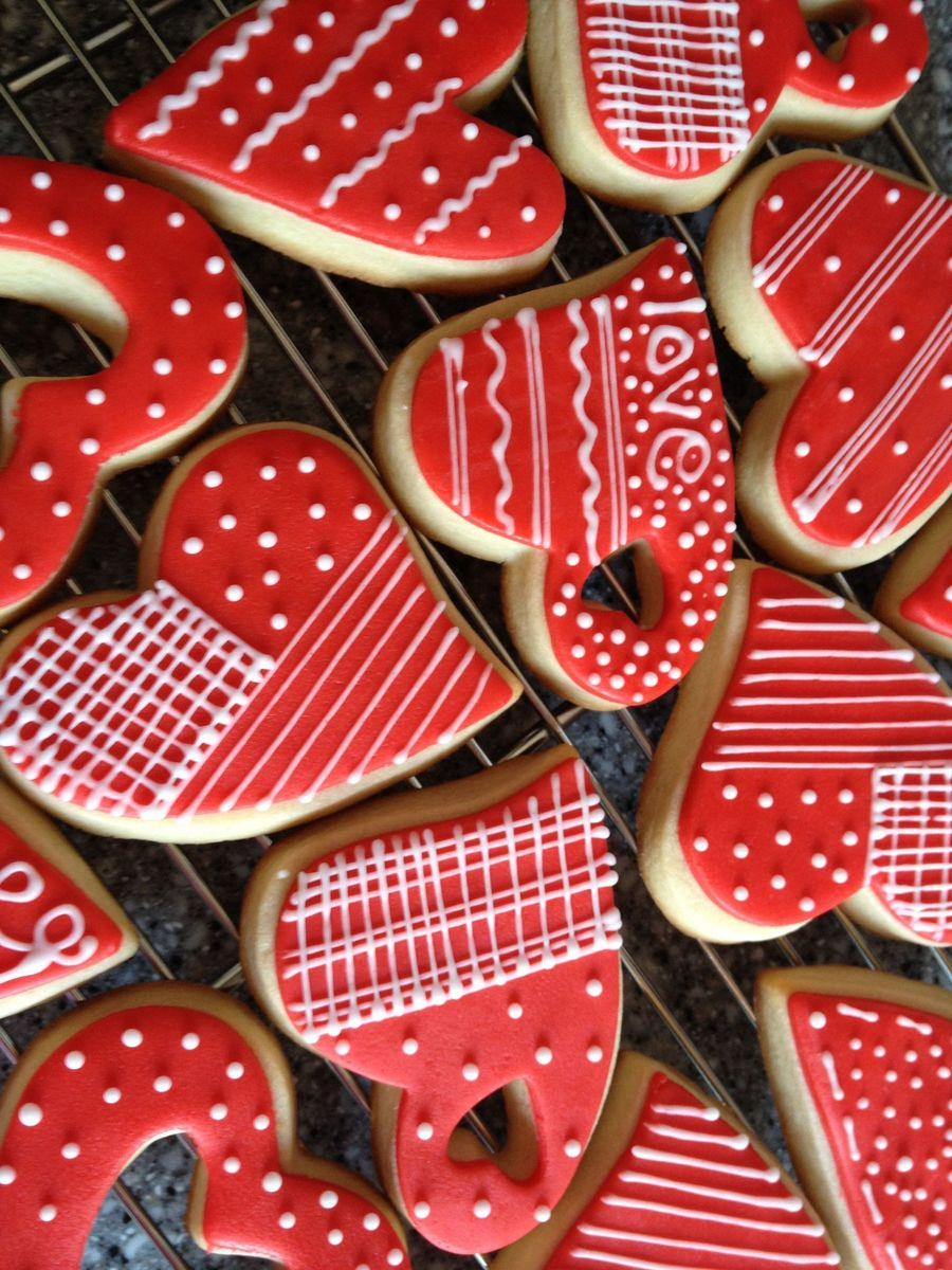 Valentine Cookies For 2013 on Cake Central