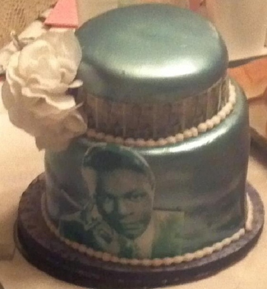 Nat King Cole Double Barrel Cake on Cake Central