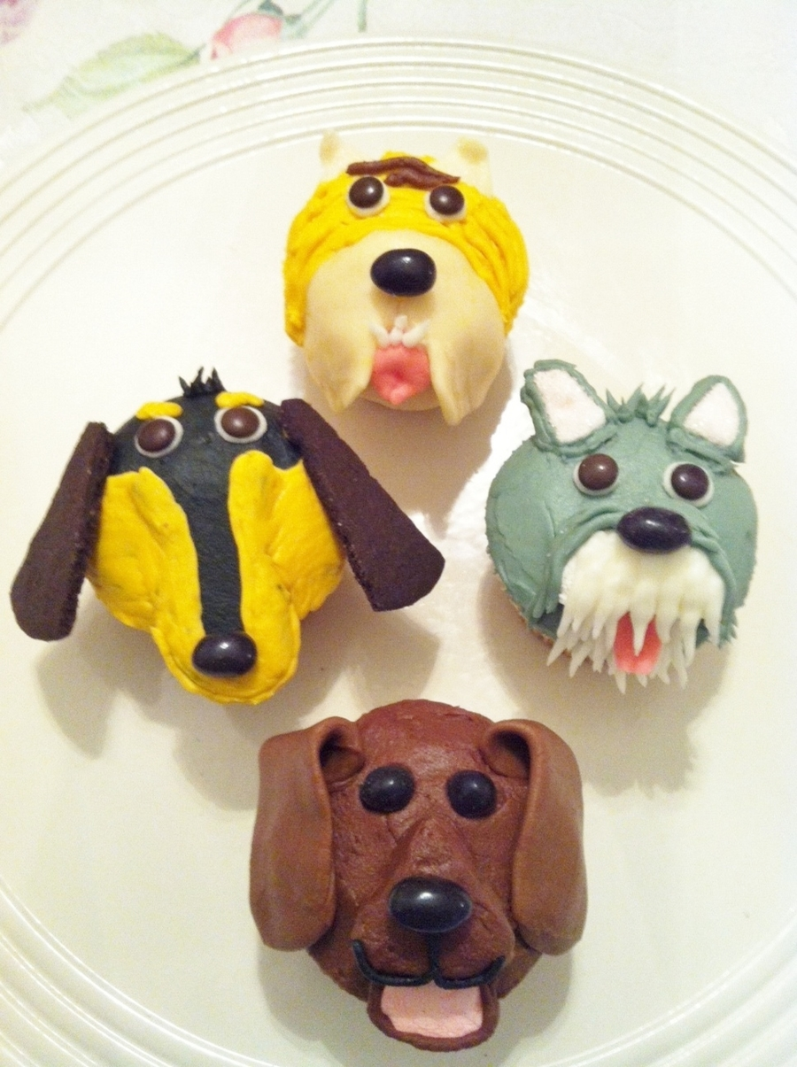Dog Cupcakes on Cake Central