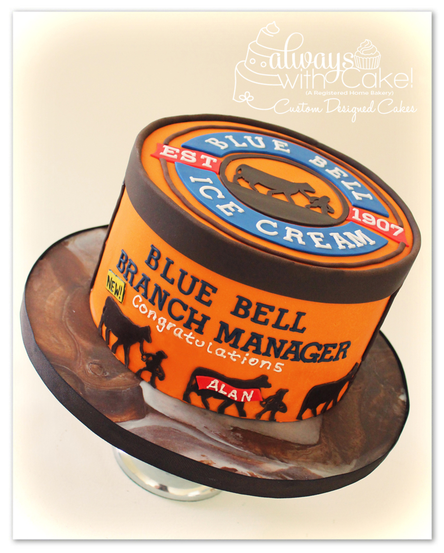 Blue Bell Ice Cream on Cake Central