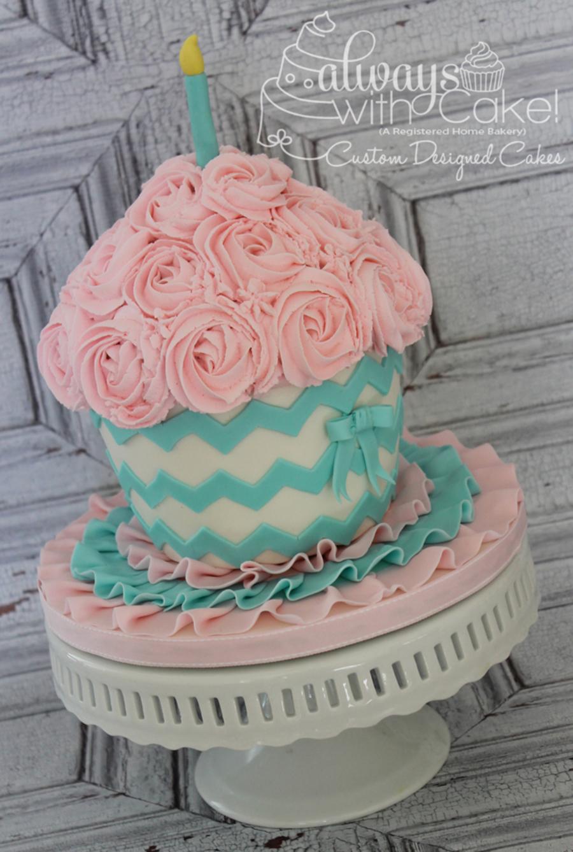 Rosette Smash Cake Tutorial