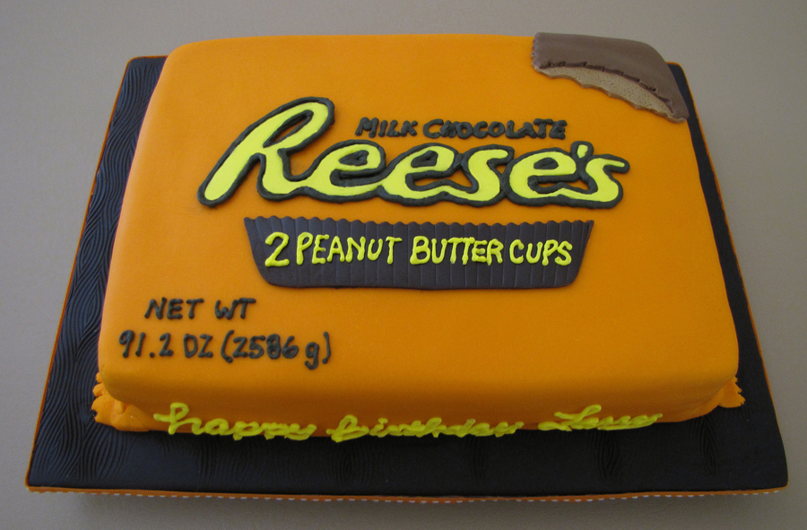 Xl Reese's Peanut Butter Cups on Cake Central