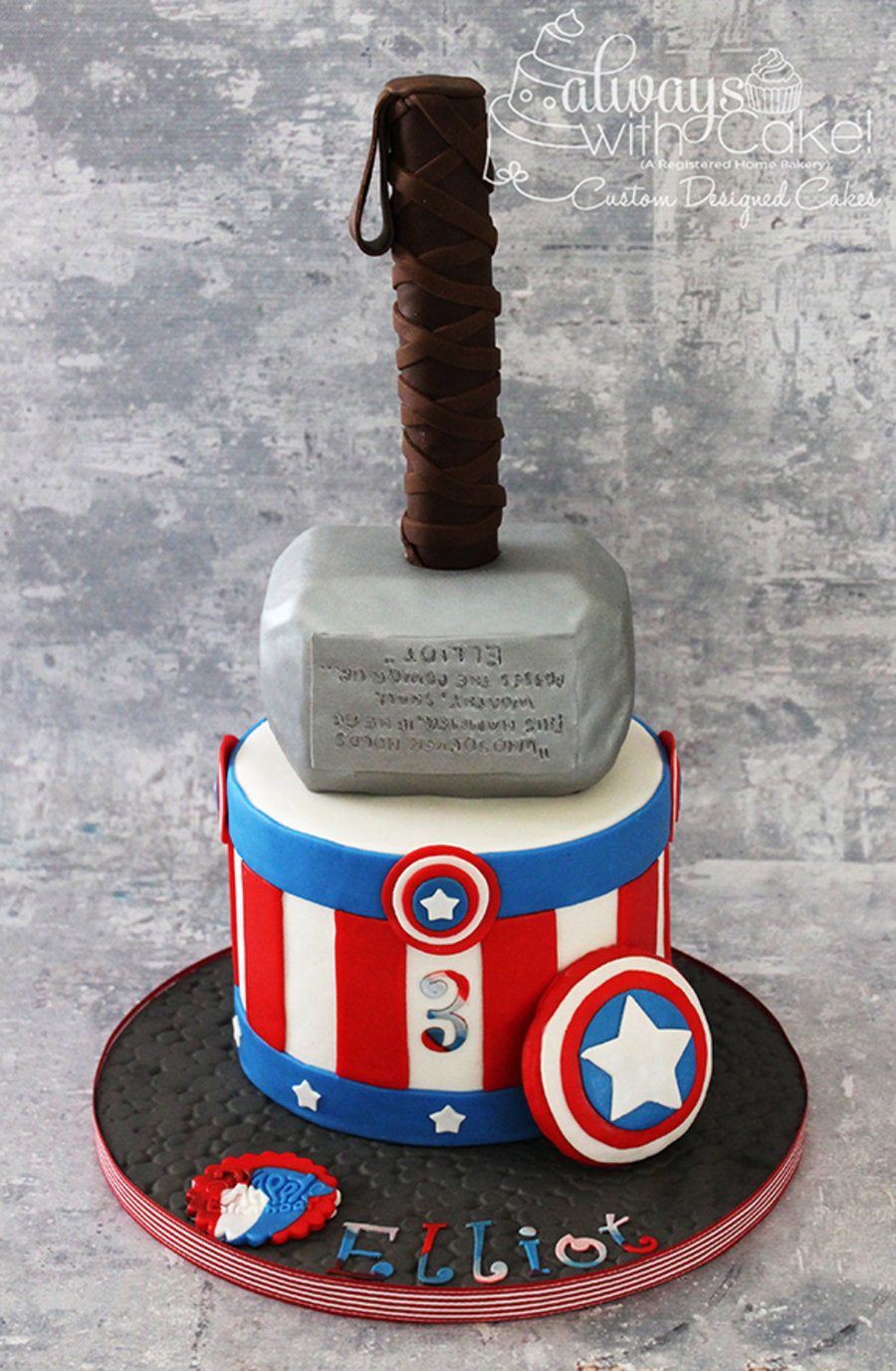 Captain America Thor Cakecentral
