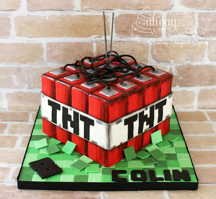 Minecraft Tnt Cake on Cake Central