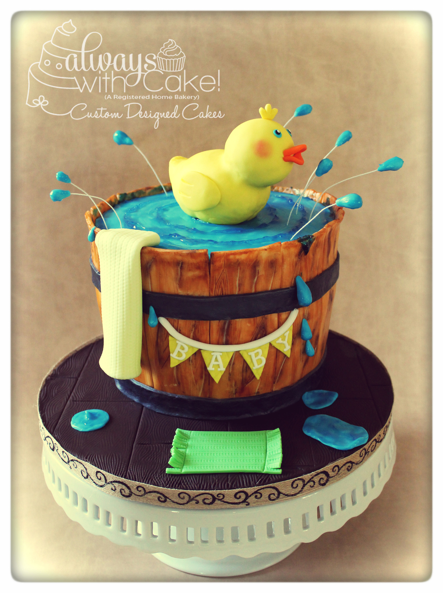 Splish-Splash Rubber Duck  on Cake Central