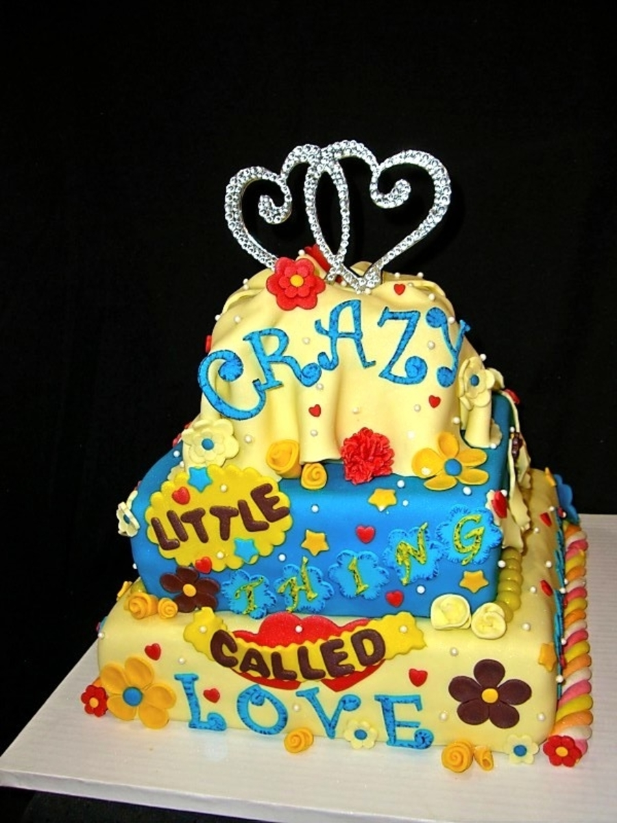 Crazy Little Thing Called Love - CakeCentral.com