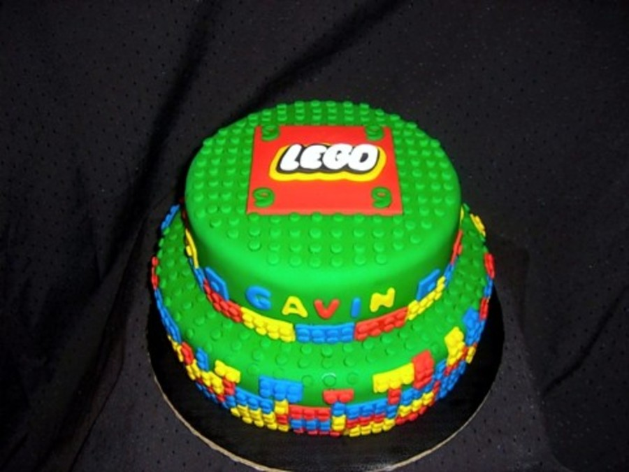 Lego Themed Birthday Cake Cakecentral