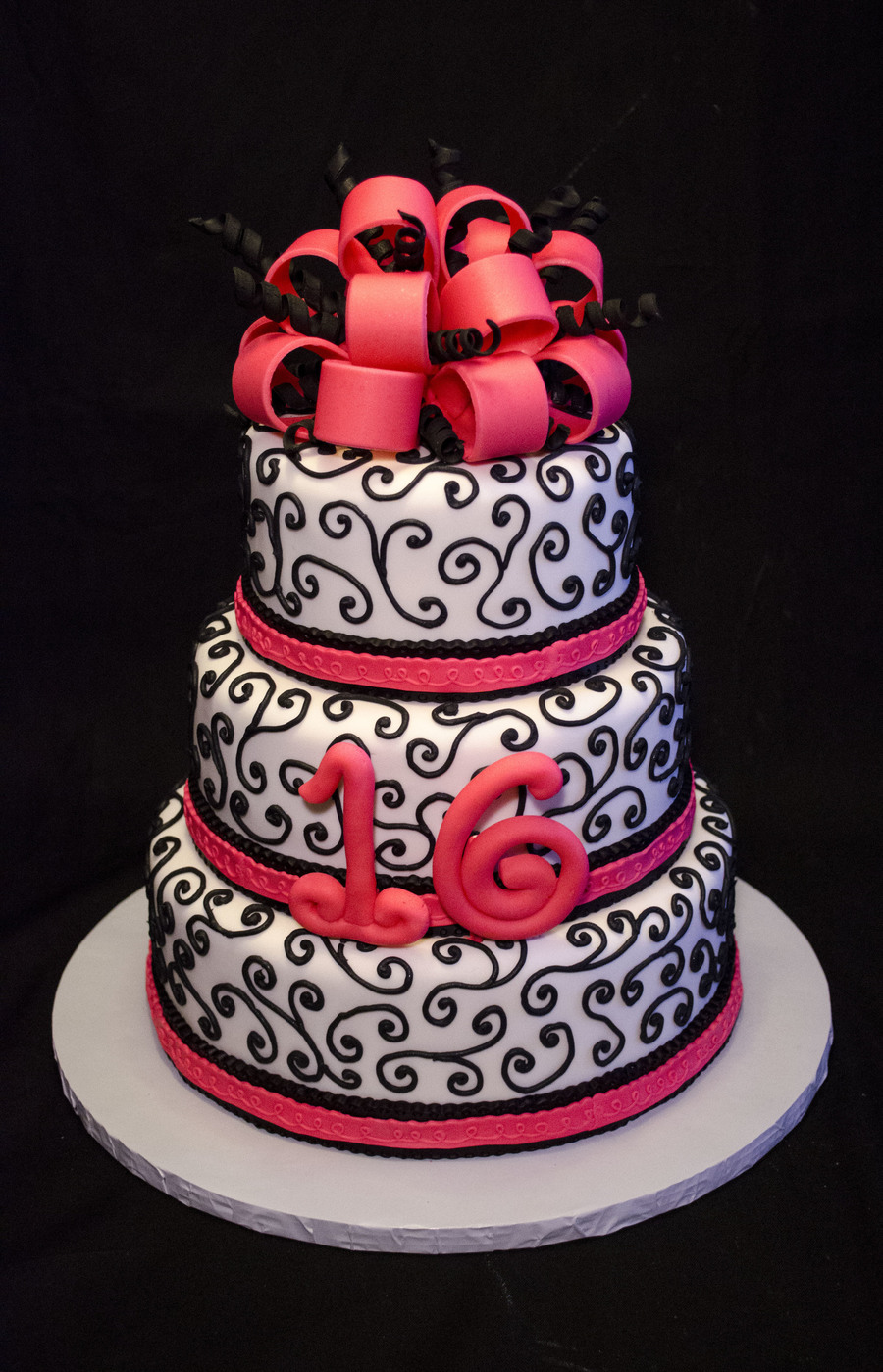 Cake Covered In Royal Icing
