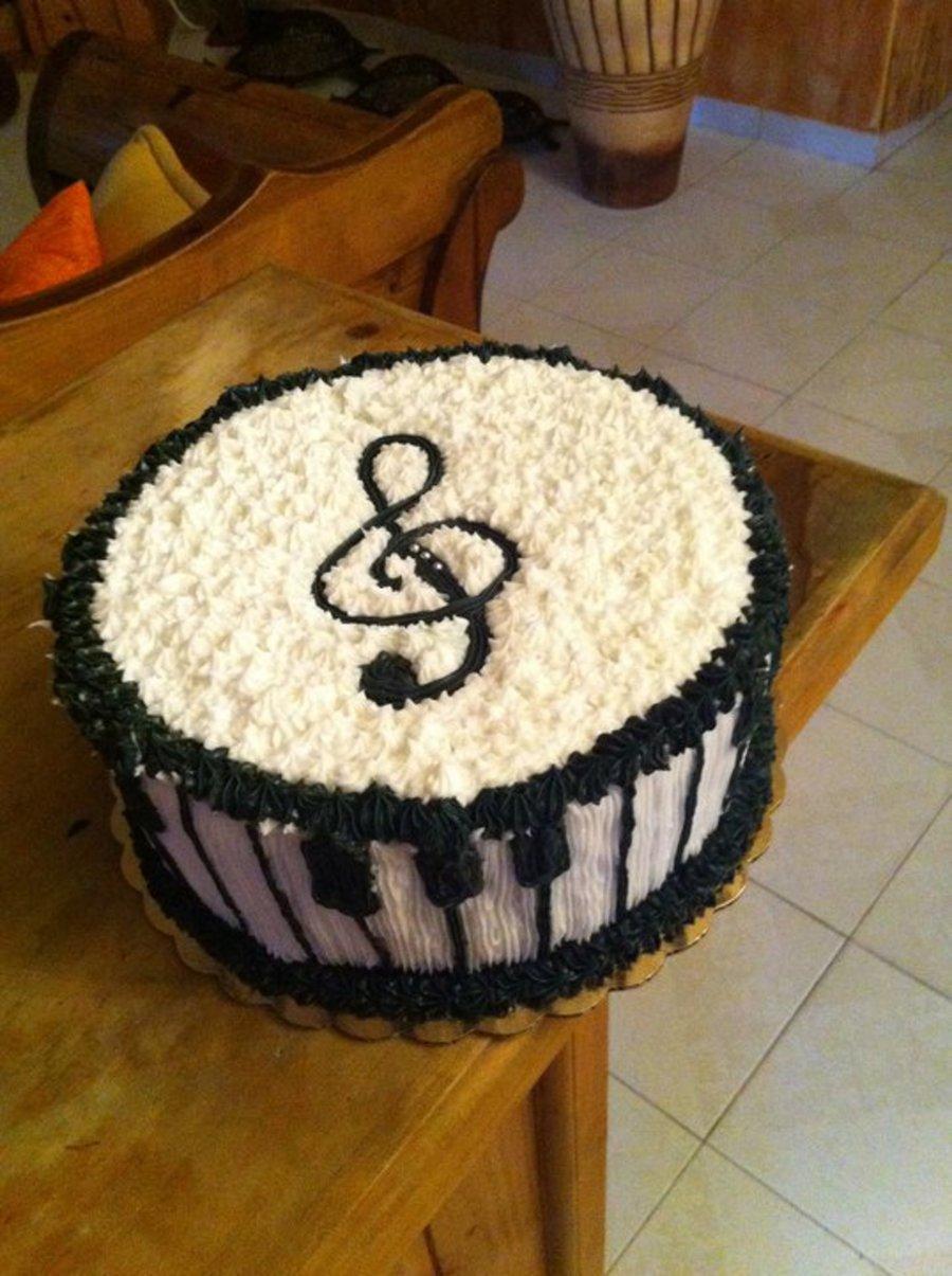 Cake Decorating Ideas Piano : Music (Piano) - CakeCentral.com