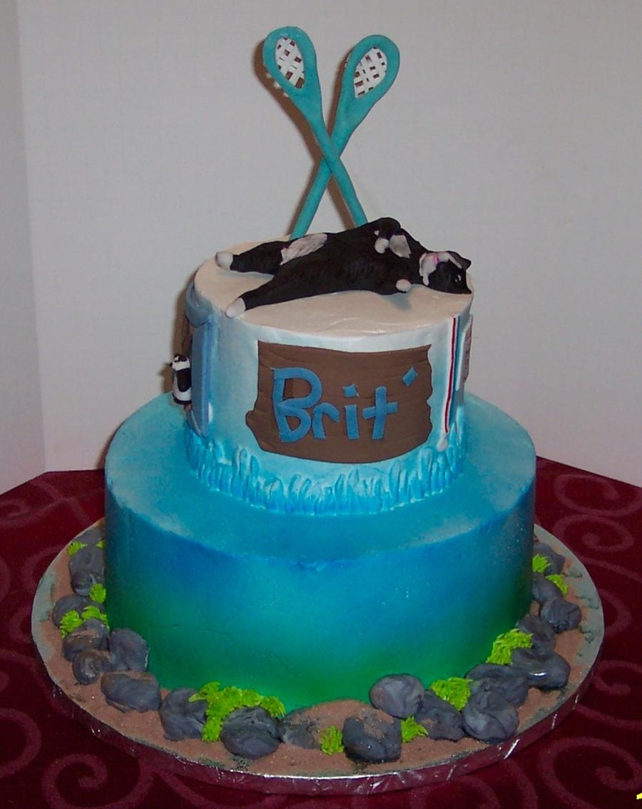 Awe Inspiring Britts 14Th Birthday Cake Cakecentral Com Personalised Birthday Cards Veneteletsinfo