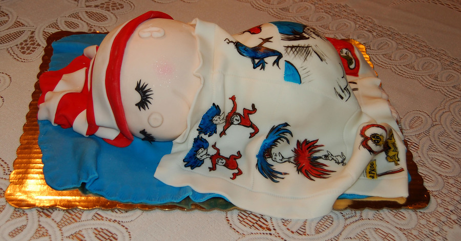 Dr. Seuss Baby Shower on Cake Central