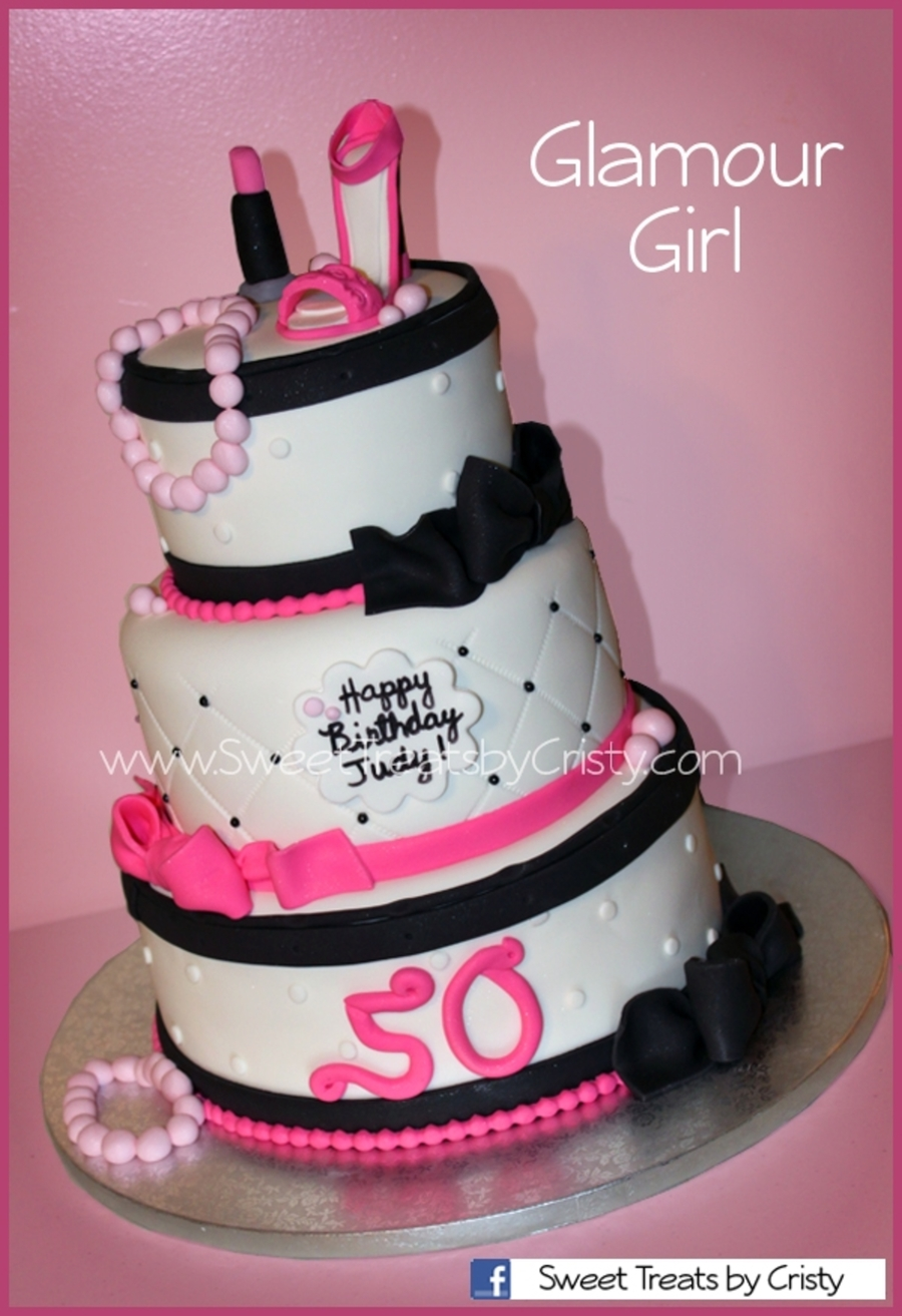 Glamour Girl on Cake Central