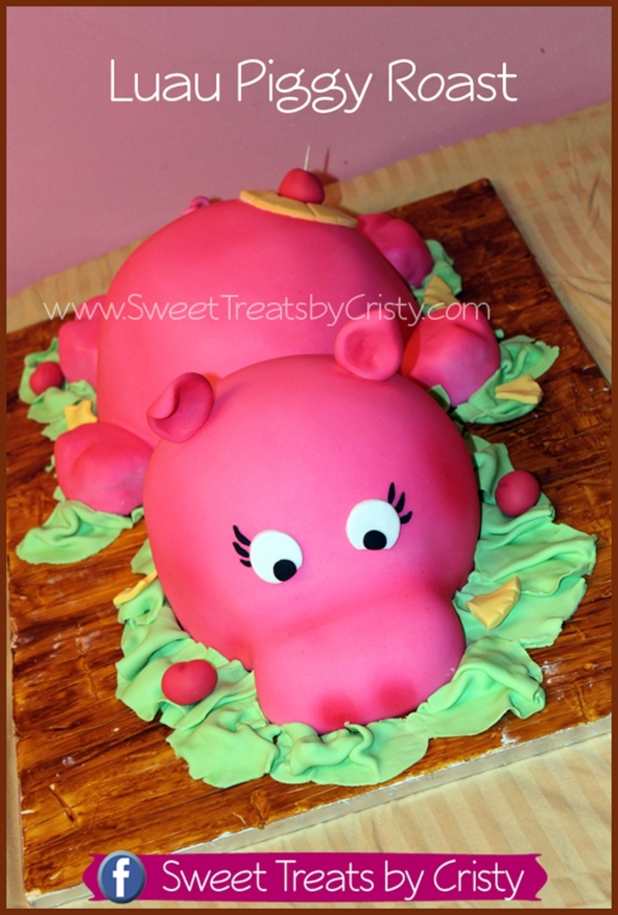 Luau Piggy Roast on Cake Central