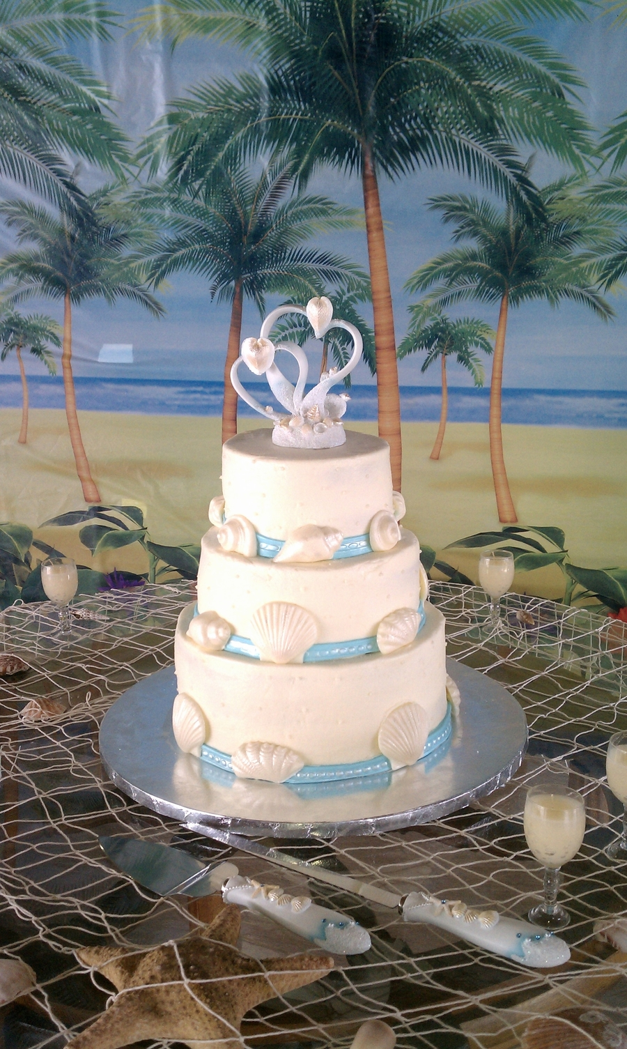Sea Shell on Cake Central