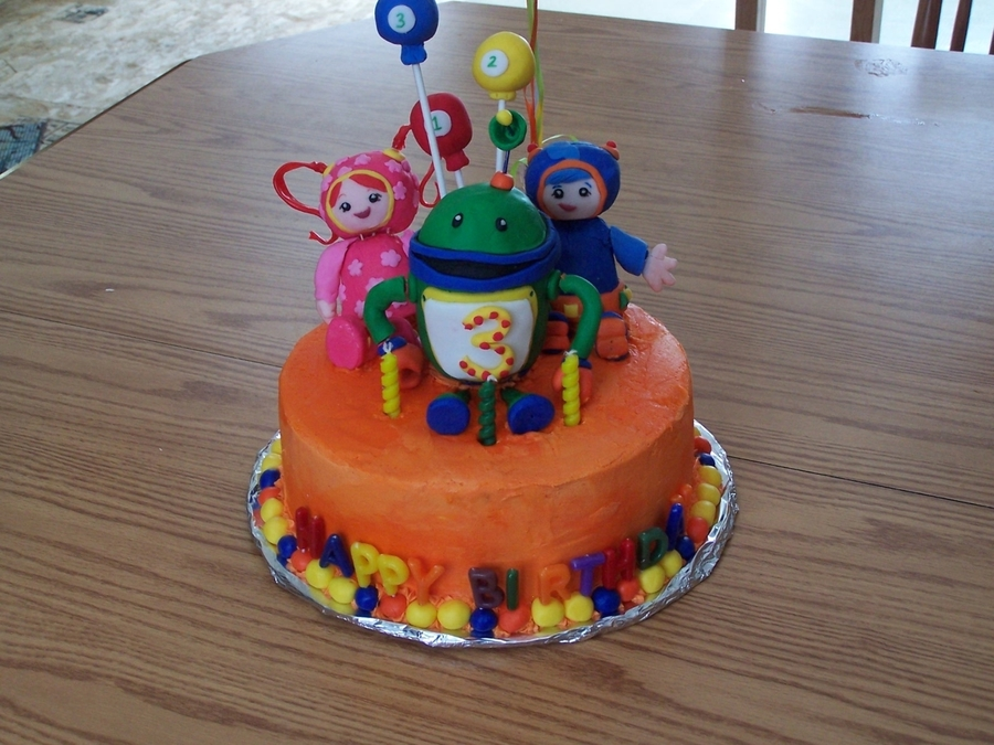 Umizoomi Birthday Cake on Cake Central