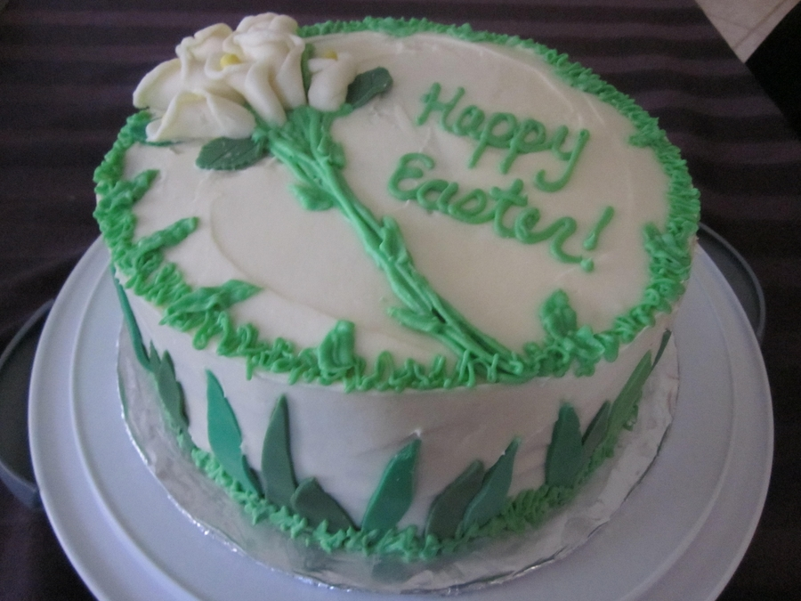 2012 - Easter Lilies on Cake Central