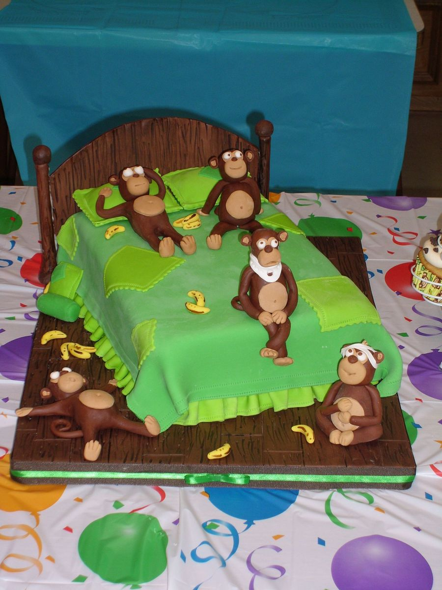 Five Little Monkeys Cakecentral Com
