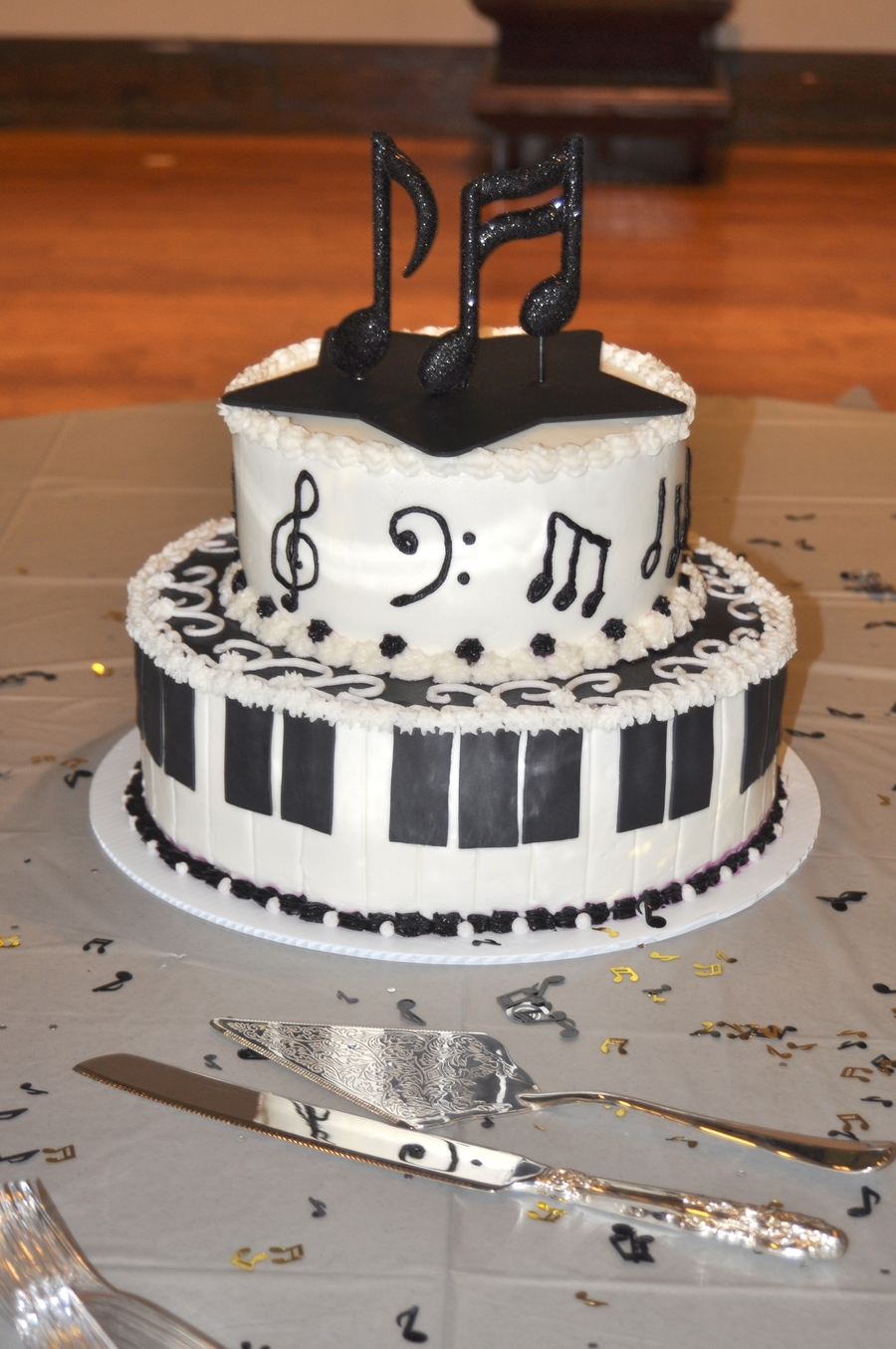 Andrew's Recital Cake on Cake Central