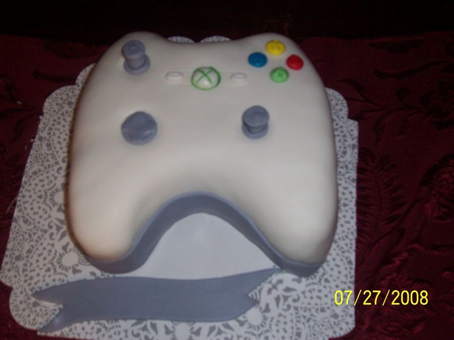 X Box B-Day Cake on Cake Central
