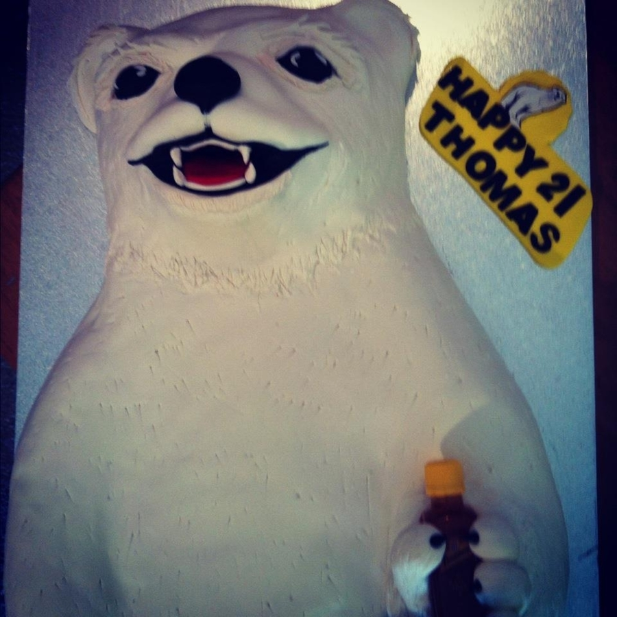 Bundy Bear Cake on Cake Central