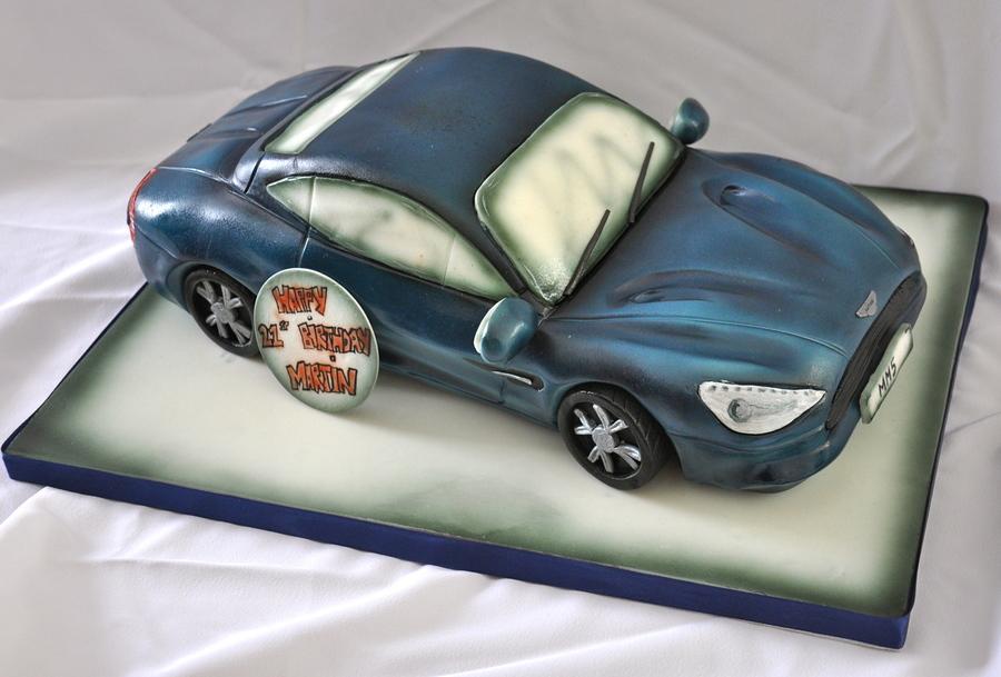 Aston Martin Vanquish Cake Cakecentral