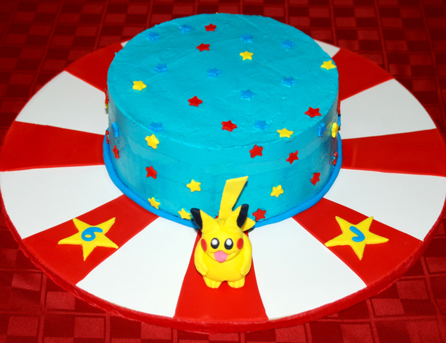 Pikachu, I Choose You! on Cake Central