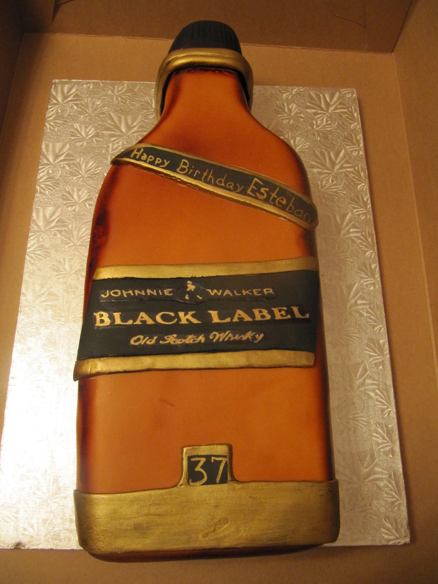 Whisky Anyone? on Cake Central