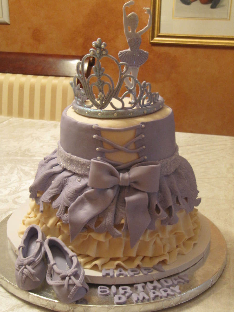 Dmary Ballet Dress on Cake Central