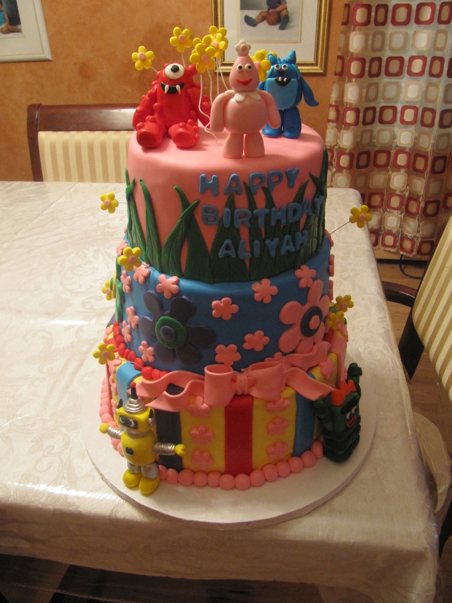 Aliyah's 2Nd Birthday  on Cake Central