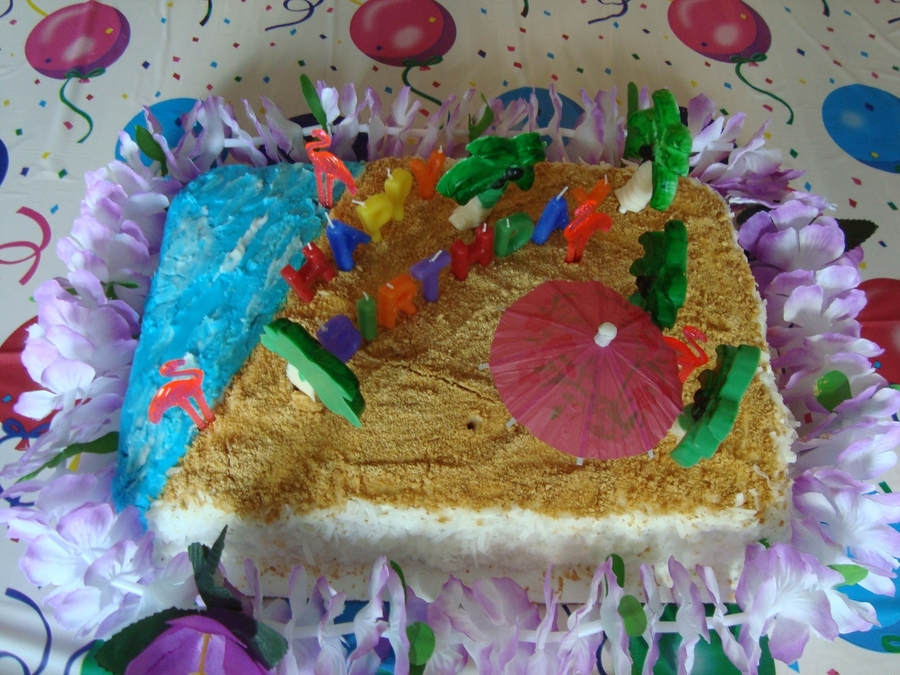 Luau on Cake Central
