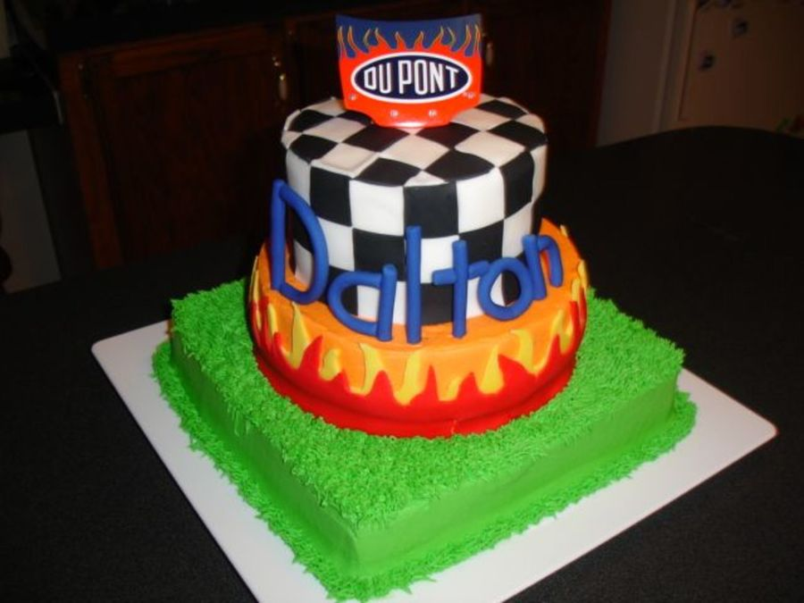Jeff Gordon Birthday Cakecentral