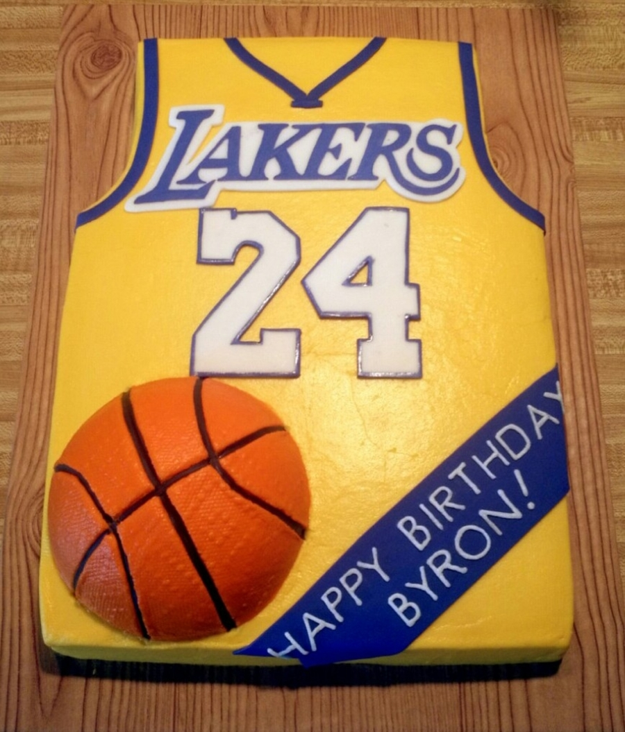 Lakers on Cake Central