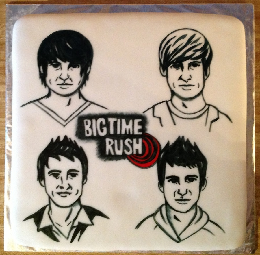 Big Time Rush on Cake Central