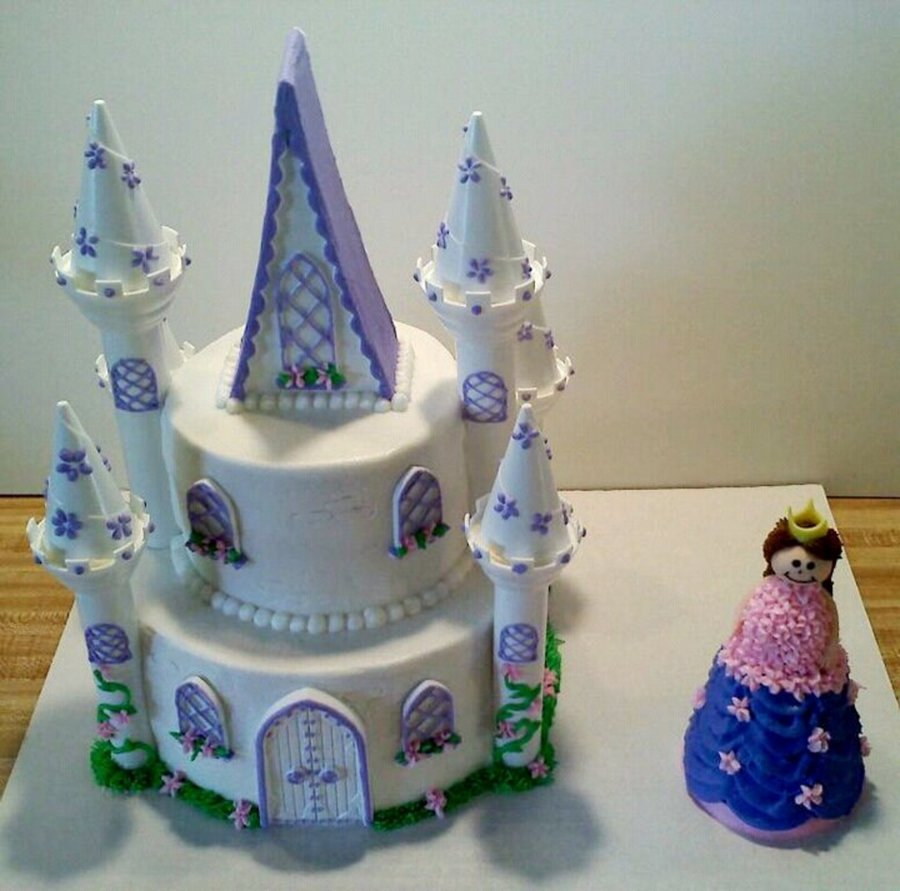 Princess & Castle on Cake Central