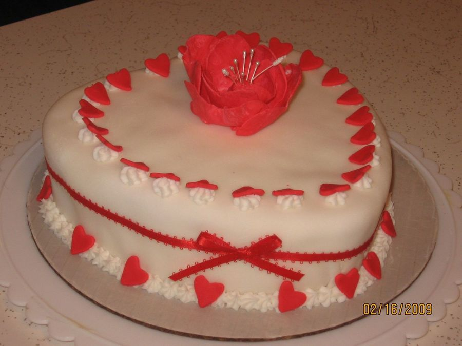 Sweetheart Cake on Cake Central
