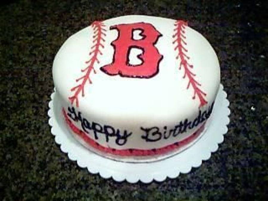 Red Sox Cake Images : Boston Red Sox Cake - CakeCentral.com