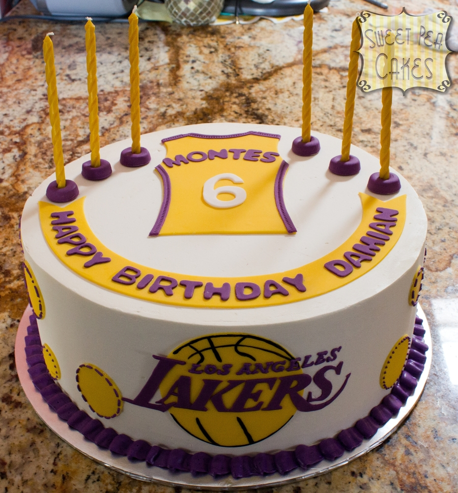 Lakers 6th Birthday Cakecentral