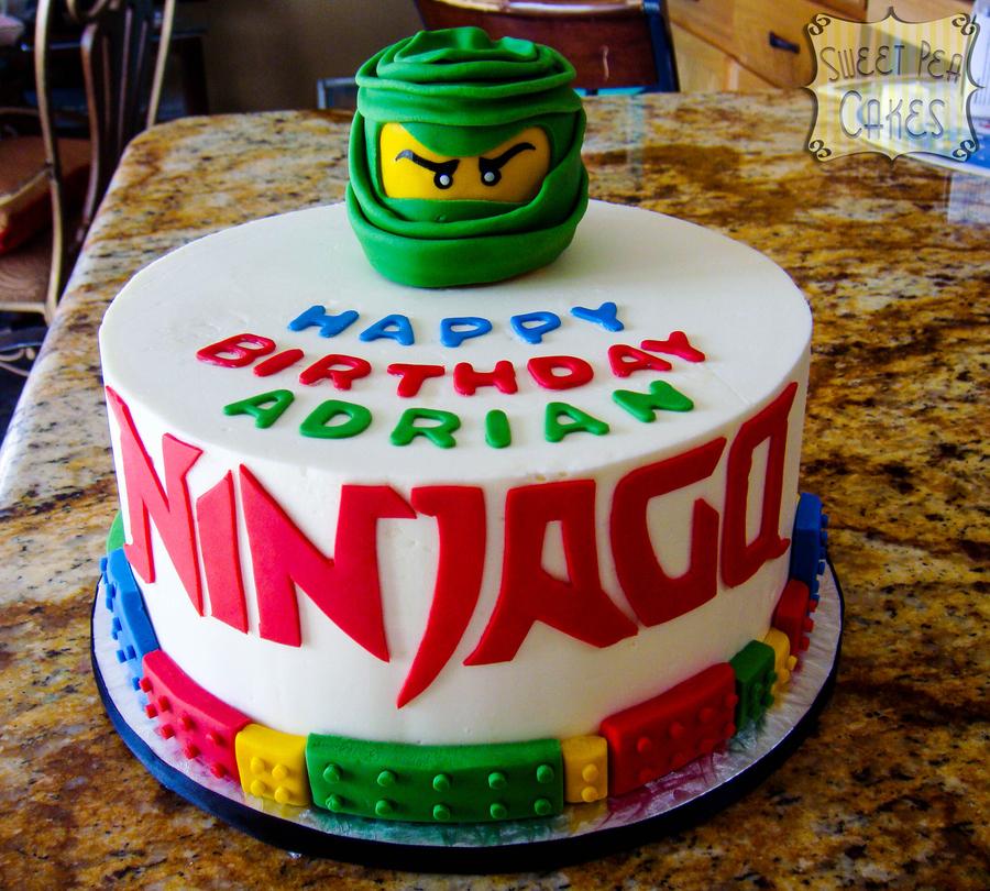 Ninjago Birthday Cakecentral Com
