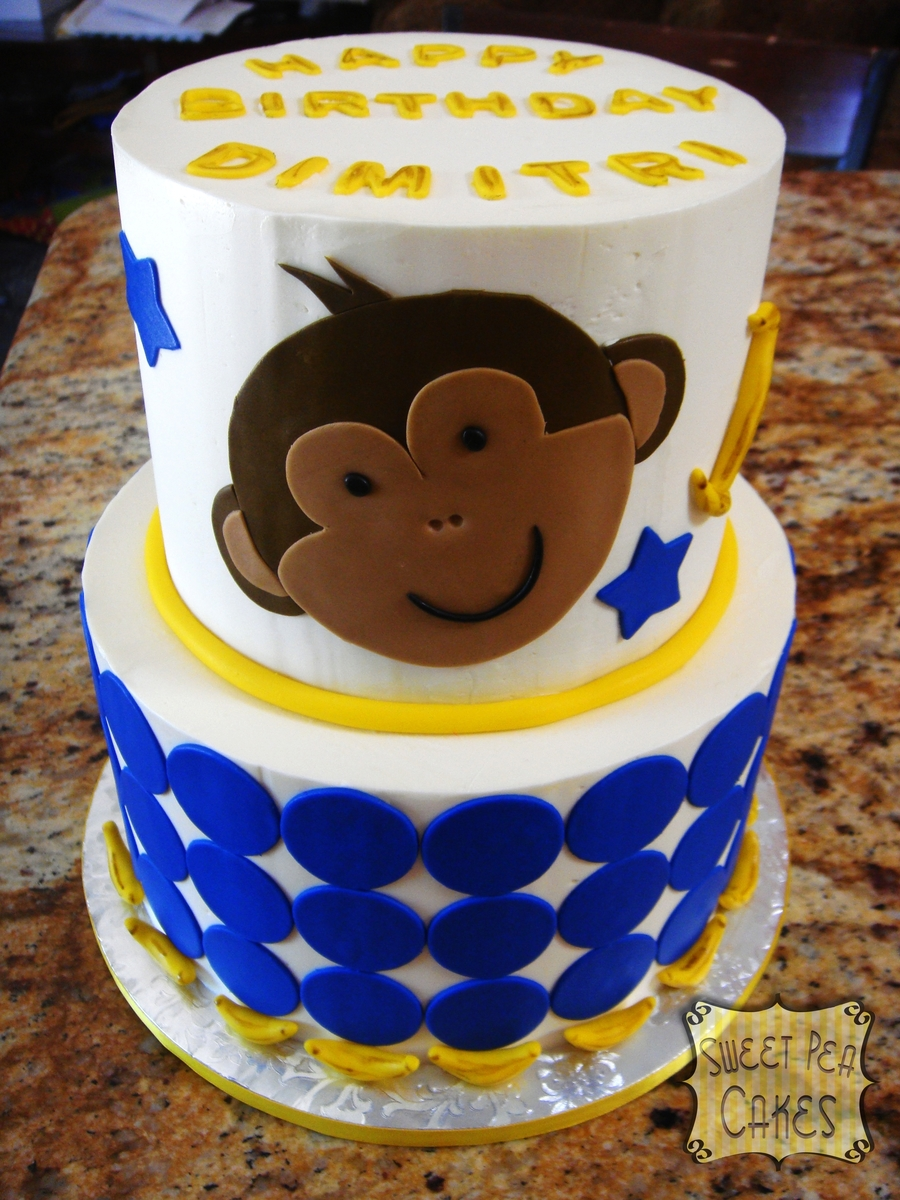 Little Monkey 1St Birthday on Cake Central